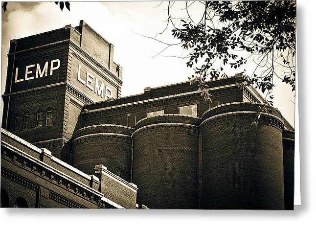 Haunted Brewery Greeting Cards - The Historic Lemp Brewery Greeting Card by Kristy Creighton