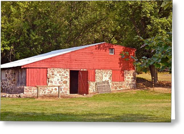Outbuildings Greeting Cards - The Hitching Post Greeting Card by Randy Rosenberger