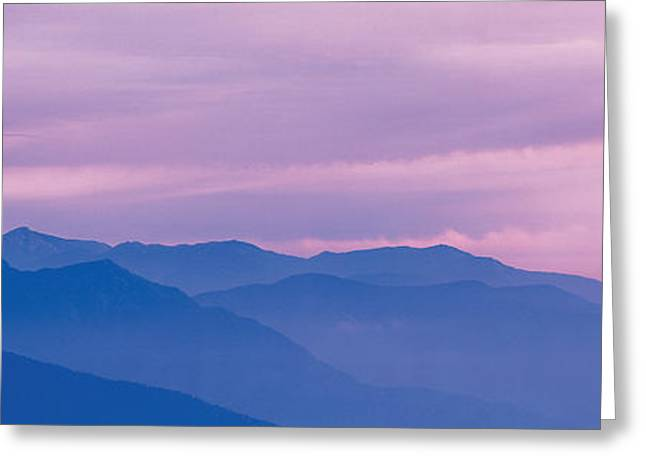Mountain Greeting Cards - The Hodakas Nagano Japan Greeting Card by Panoramic Images