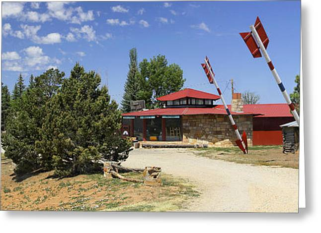 Hogan Greeting Cards - The Hogan Trading Post - Marcos Greeting Card by Mike McGlothlen
