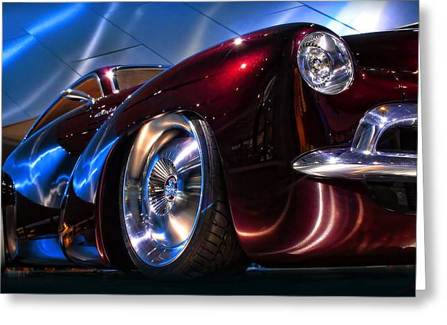 Naias Digital Greeting Cards - The Holden Efijy Greeting Card by Gordon Dean II