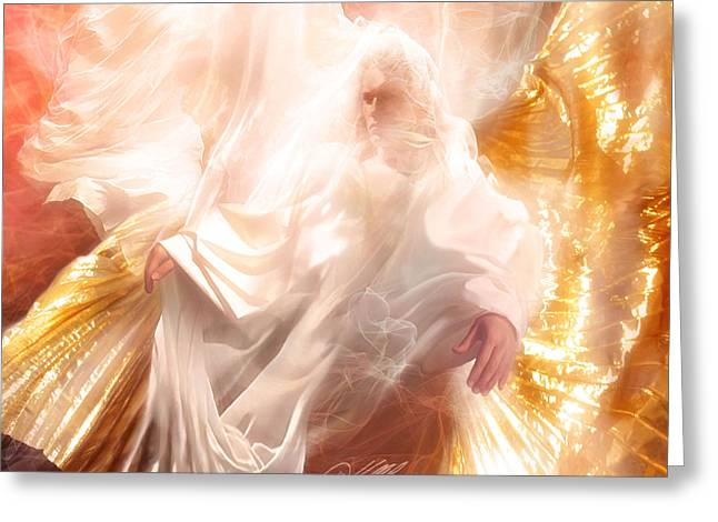 The Holy Spirit Greeting Card by Danny  Hahlbohm