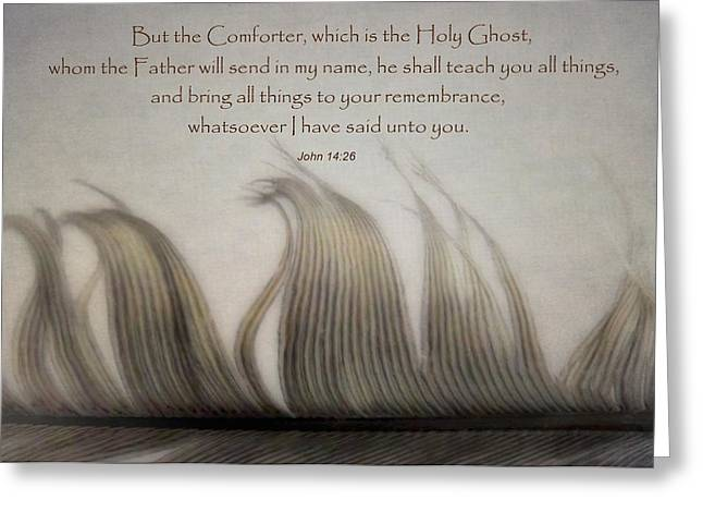 Holy Ghost Church Greeting Cards - The Holy Spirit Greeting Card by David and Carol Kelly