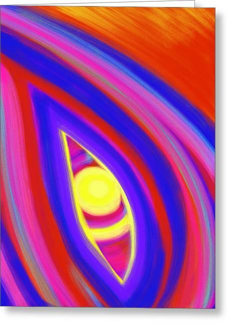 The Horizon Of Osirus Greeting Card by Daina White