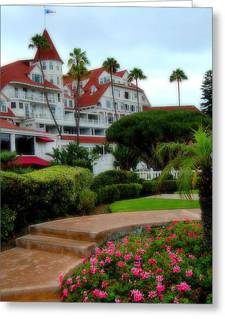 Carter House Greeting Cards - The Hotel Del Coronado Greeting Card by See My  Photos