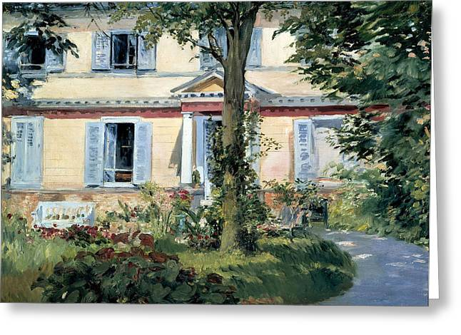 The Houses Greeting Cards - The House at Rueil Greeting Card by Edouard Manet