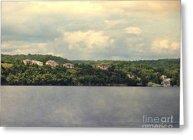 Lake House Greeting Cards - The Houses of Pickwick I Greeting Card by Jai Johnson