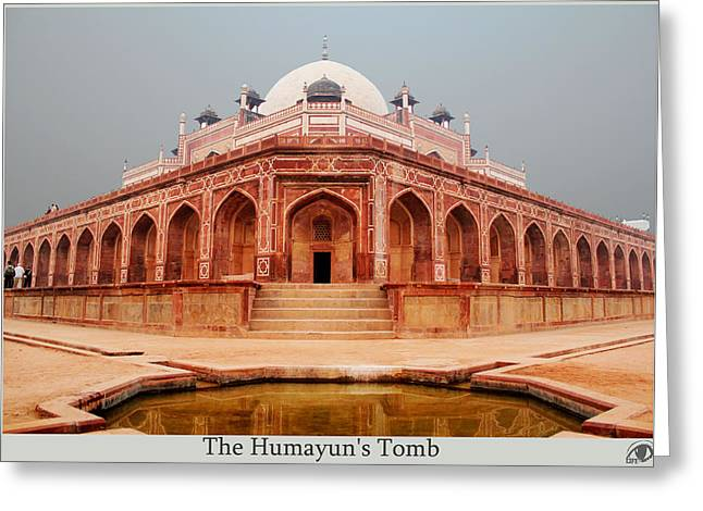 Tomb Sculptures Greeting Cards - The Humayuns Tom Greeting Card by Ashish  Sharma