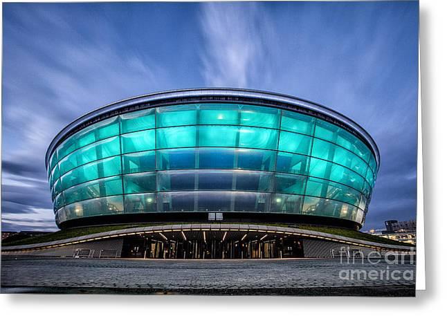 Scotland Landscape Prints Greeting Cards - The Hydro Glasgow Greeting Card by John Farnan