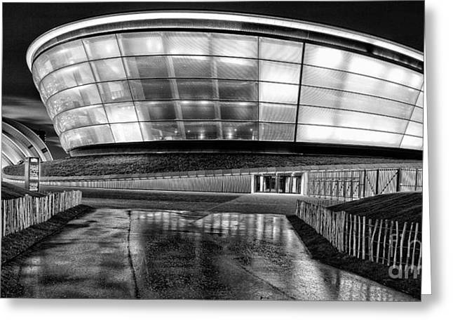 Hydro Greeting Cards - The Hydro mono Greeting Card by John Farnan