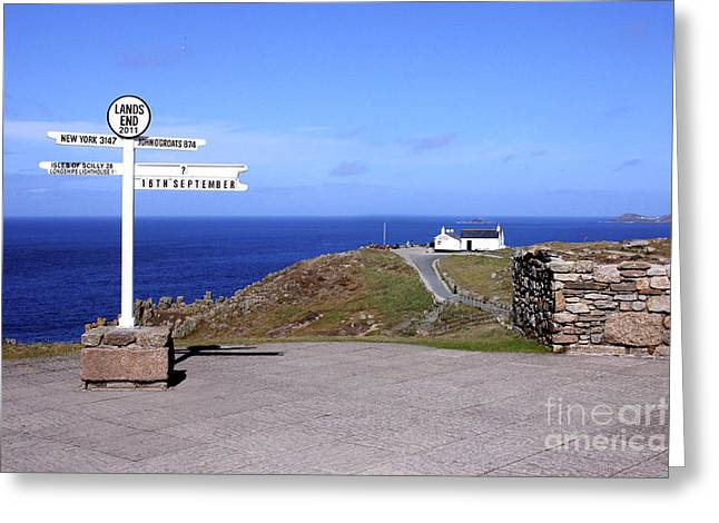 Extremity Greeting Cards - The Iconic Lands End Greeting Card by Terri  Waters