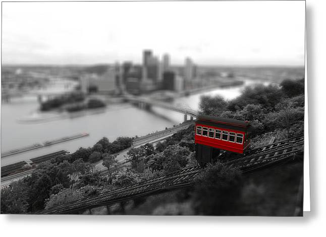 Miniature Effect Greeting Cards - The Incline Greeting Card by Kenneth Krolikowski