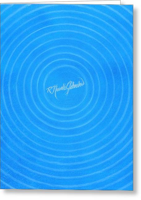 Savvy Greeting Cards - The Inner Circle Greeting Card by R Neville Johnston