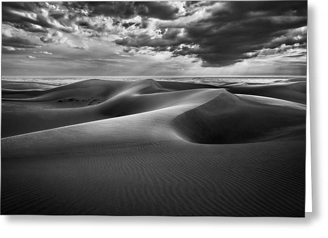 Sanddunes Greeting Cards - The Inner Sea Greeting Card by Alexander Kunz