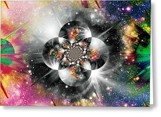 Mind Of God Greeting Cards - The Inscrutable Mind Of God IV Greeting Card by Aurelio Zucco