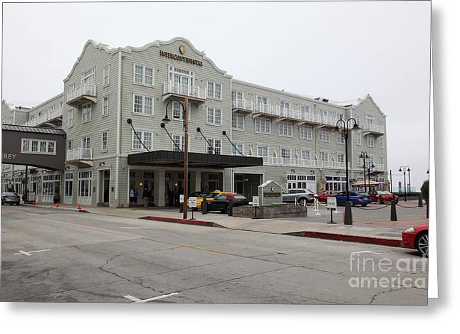 Monterey California Greeting Cards - The Intercontinental Hotel On Monterey Cannery Row California 5D24783 Greeting Card by Wingsdomain Art and Photography