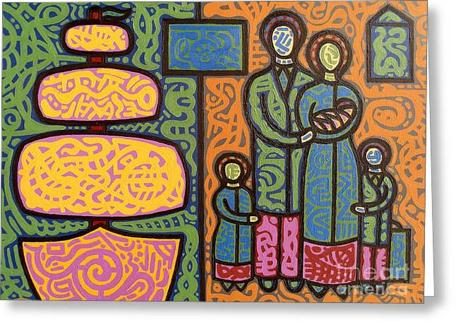 Family Love Greeting Cards - The Irish Famine Greeting Card by Patrick J Murphy