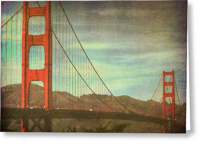 California Art Greeting Cards - The Iron Horse Greeting Card by Kandy Hurley