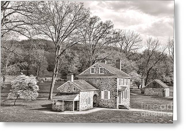 Pa Greeting Cards - The Isaac Potts House Greeting Card by Olivier Le Queinec