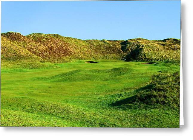 The Link Photographs Greeting Cards - The Island Golf Club in Dublin Ireland Greeting Card by Scott Carda