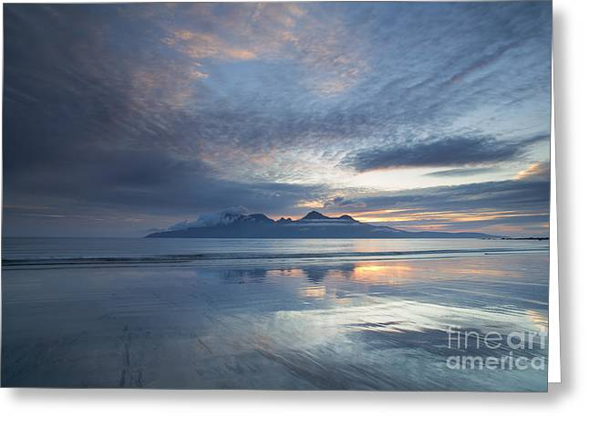Inner Self Photographs Greeting Cards - The Isle of Rhum Greeting Card by John Potter