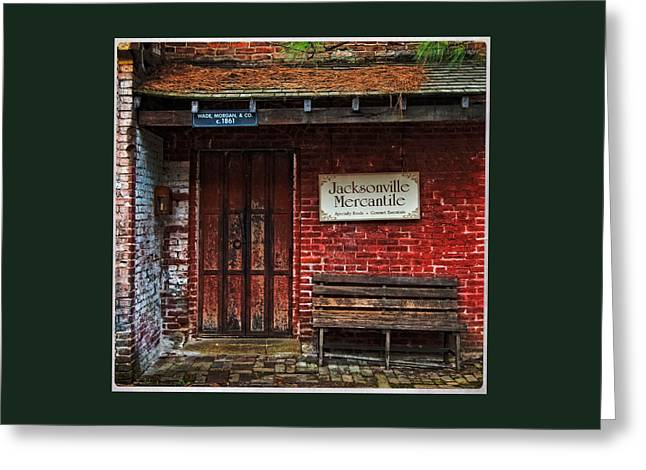 Photo Art Gallery Greeting Cards - The Jacksonville Mercantile Building Greeting Card by Thom Zehrfeld