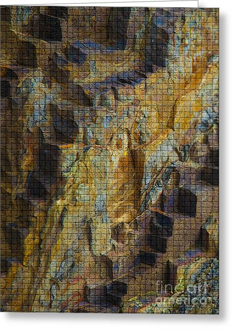 The Jagged Rock Of Vesuvius Greeting Card by Graham Foulkes