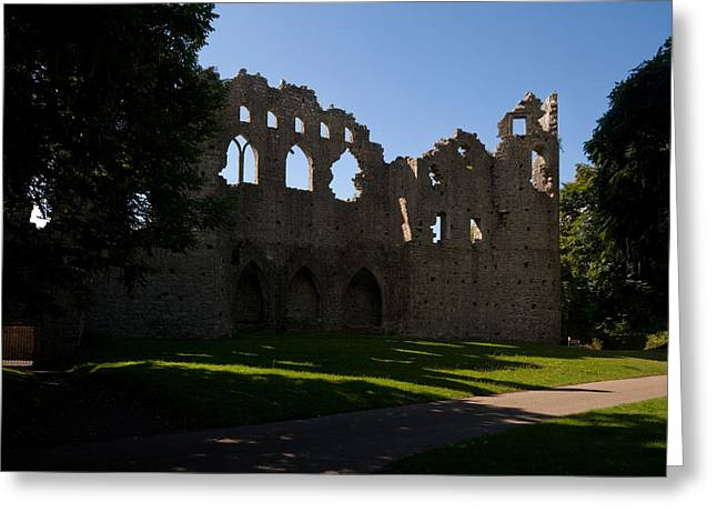 Lough Greeting Cards - The Jealous Wall Folly, County Greeting Card by Panoramic Images