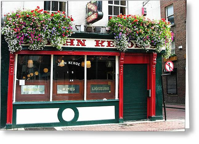 Barre Greeting Cards - The John Kehoe In Dublin Greeting Card by Mel Steinhauer