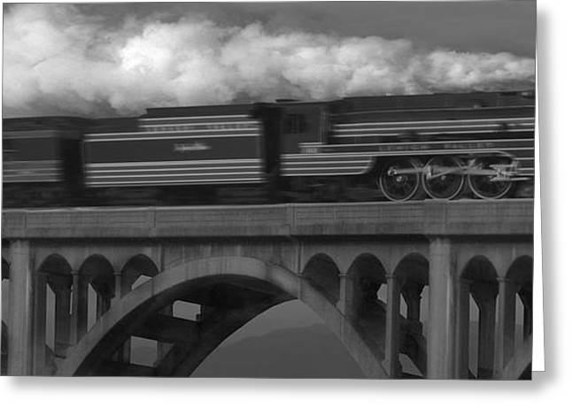 Stone Bridge Greeting Cards - The John Wilks Greeting Card by Mike McGlothlen