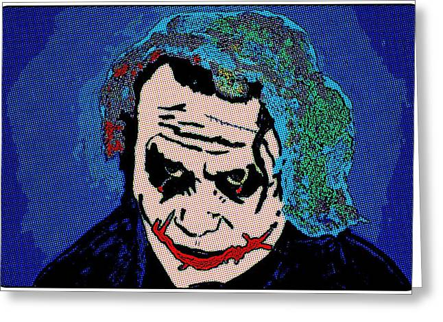 Ledger; Book Paintings Greeting Cards - The Joke Is On You Greeting Card by Robert Margetts