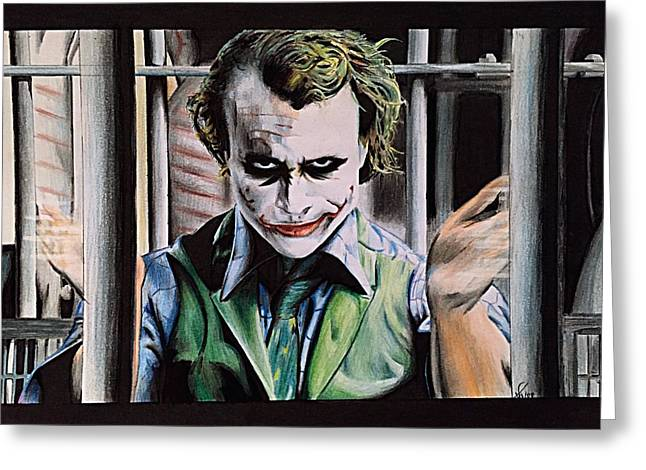 Bale Greeting Cards - The Joker Greeting Card by Lounis Production
