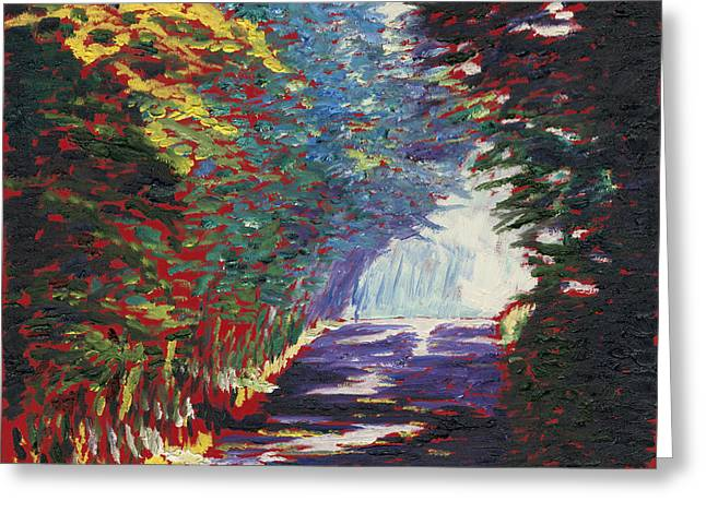 Charlotte Gallery Greeting Cards - The Journey Greeting Card by Preston Sandlin