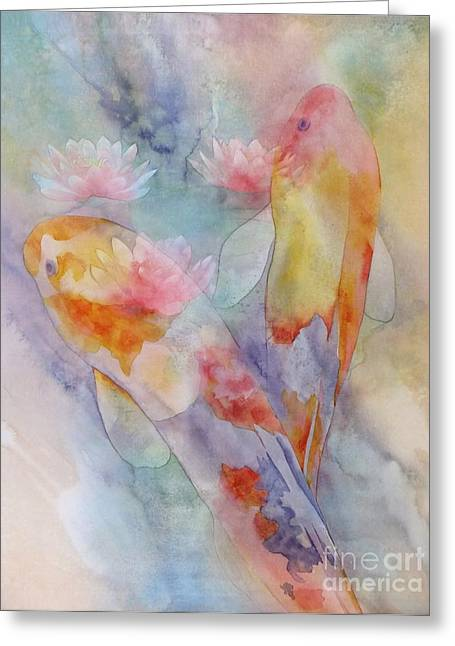 Feng Shui Greeting Cards - The Journey Greeting Card by Robert Hooper