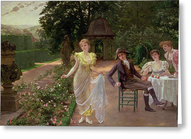 Maze Greeting Cards - The Judgement of Paris Greeting Card by Hermann Koch