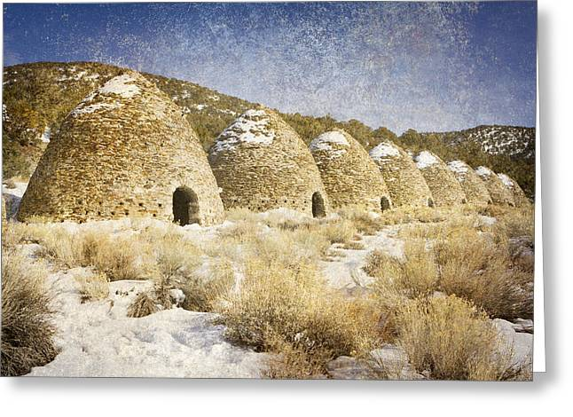 Charcoal Ovens Greeting Cards - The Kilns Greeting Card by Steve Smith