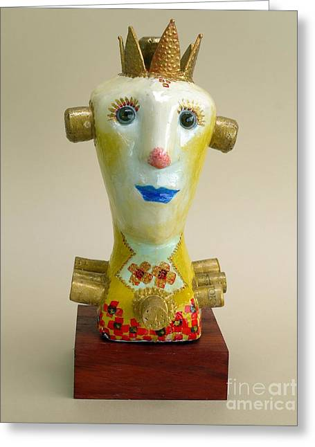 Souls Sculptures Greeting Cards - The King of the Vines  Greeting Card by Osiris OConnor