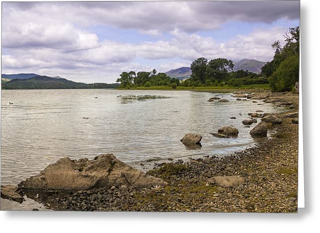 Jetty View Park Greeting Cards - The Lakes Greeting Card by Chris Smith