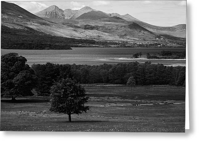Website Greeting Cards - The Lakes Of Killarney  Greeting Card by Aidan Moran