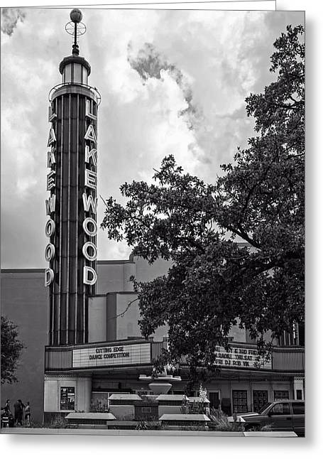 Historical Pictures Greeting Cards - The Lakewood Theatre of Dallas Greeting Card by Mountain Dreams