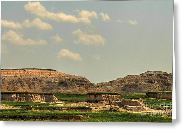 As Far As The Eye Can See Greeting Cards - Eroding Buttes  Greeting Card by Anthony Wilkening