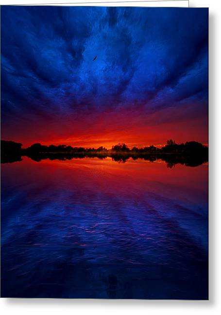 Lake Photographs Greeting Cards - The Language of My Soul Greeting Card by Phil Koch