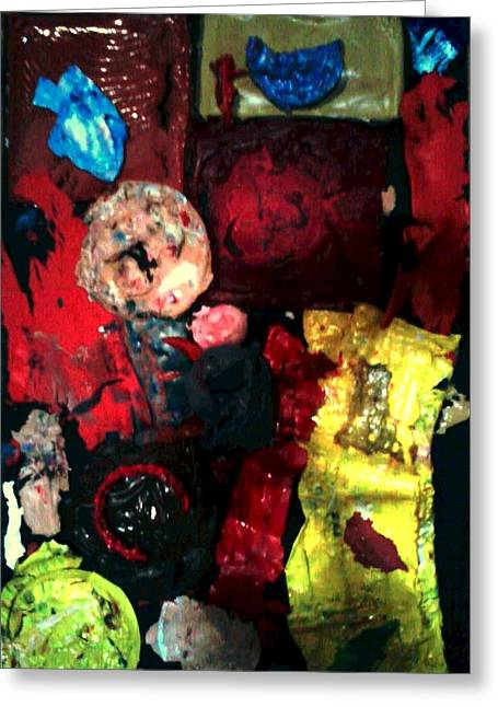 Forgiven Mixed Media Greeting Cards - The Last Abortion Greeting Card by Richard  Hubal