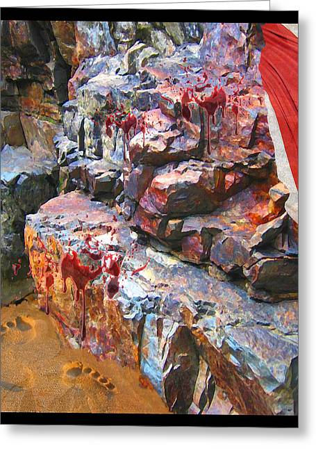 Bible Mixed Media Greeting Cards - The Last Lamb Greeting Card by JR Phillips
