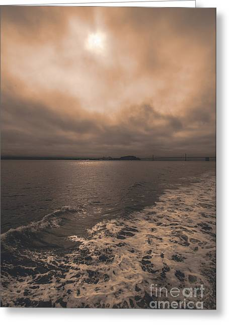Alcatraz Greeting Cards - The Last Sense of Freedom Greeting Card by AJ Goldian