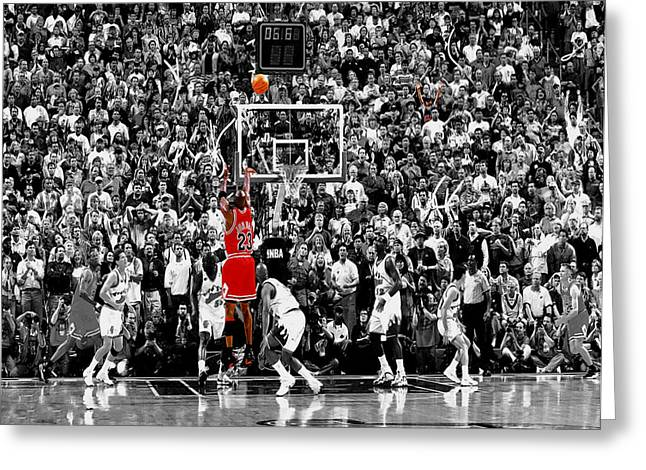 Airness Greeting Cards - The Last Shot 1 Greeting Card by Brian Reaves