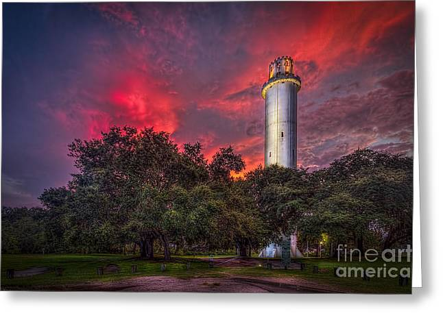 Tampa Greeting Cards - The Last Shot Greeting Card by Marvin Spates