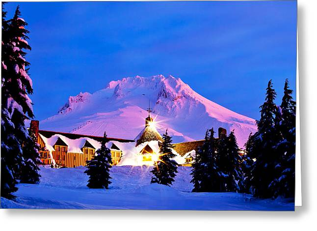 Timberline Greeting Cards - The Last Sunrise Greeting Card by Darren  White