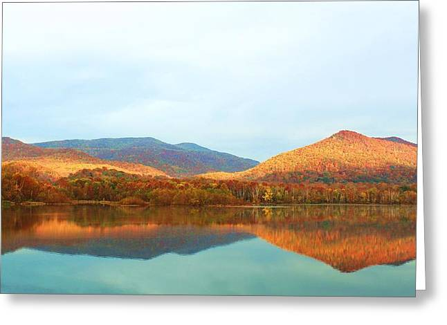 The Plateaus Greeting Cards - The Last Sunrise of October 2014 Greeting Card by Chris Hill
