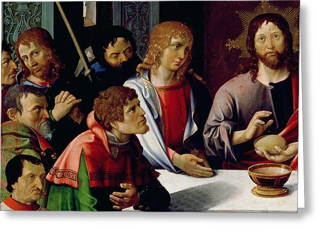 The Last Supper Greeting Card by French School
